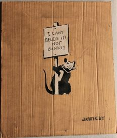 STOT21STCPlanB - Not by Banksy by Not Banksy - I cant't believe it's not Banksy