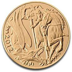 Great Britain - Sovereign 2012 - Elizabeth II - gold