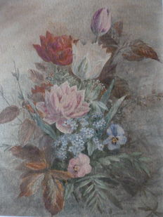 Unknown (20th century) - Bloemenpracht