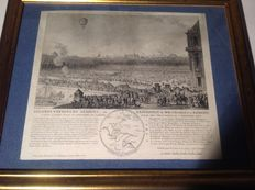 France second passenger airline Experience of MM Charles and Robert 1783