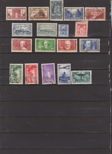 France - Selection of stamps