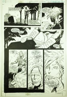 Breccia, Enrique - Original comic page - (p. 29) - Legion Worlds 2 - Winath - (2001)