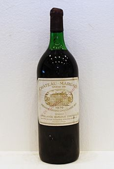 Chateau Margaux, year 1976 – One Magnum bottle