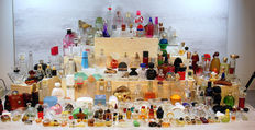 Large collection with 230 unique perfume bottles