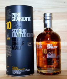 Port Charlotte 10 / Bruichladdich / aged 10 years / Second Limited Edition, Islay Single Malt Scotch Whisky, incl. Metal Box