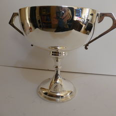 Large silver trophy cup, London, Charles Boyton & Son Ltd, 1921