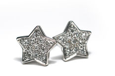 White Gold earrings with 22 diamond/brilliant - 0,24 ct  H-VS