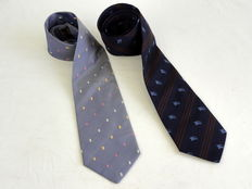 Burberry / Mulberry – 2 ties