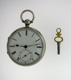 Silver Open Face Pocket Watch 1862 Chester