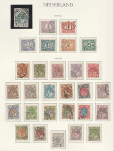 The Netherlands 1899/1923 - Small collection including Independence up to 5 Guilders