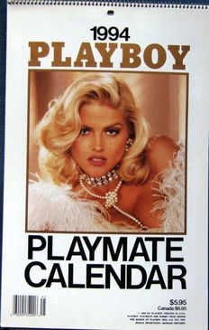 Playboy; Lot with 5 Playmate Calendars - 1994 / 2006