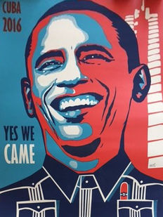 Ares - Obama in Cuba - Yes we came