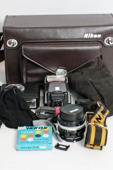 Bag with Nikon accessories