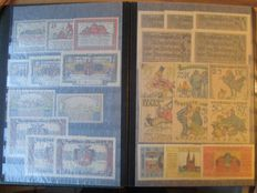 Germany - 1 stamp album full of 364 German series notes, all different