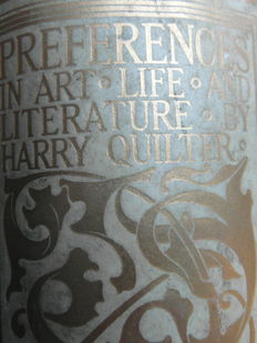 H. Quilter - Libro ¨Preferences in Art, Life, and Literature¨ - 1892
