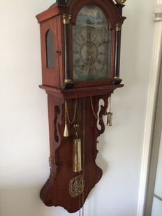 Antique Frisian clock (also called notary clock) - around 1850.
