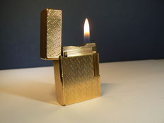 Gold plated Dupont lighter; 20 µ