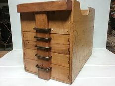 Old Carpenter's tool box