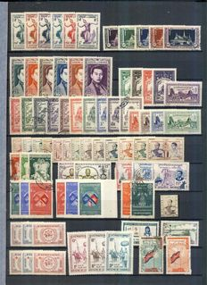 Cambodia 1951/1968 - Nice collection with Airmails & blocks