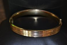 Gold double bracelet from around 1900