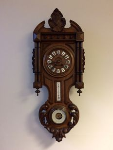 Wooden clock type Henry Deux – France – period 1910