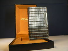Silver plated Dupont lighter; large model