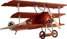 Authentic Models Red Baron Tri Plane