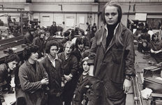 John Jones - First girl in the training centre - Luton - U.K - 1976