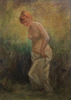 Unknown artist (20th century) - Nude female