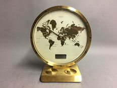 World times clock in brass casing - Kienzle - 1980s