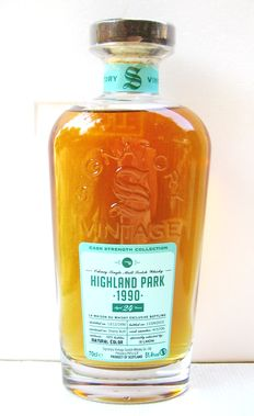Highland Park 1990 24 years old - Orkney - 70cl - 51,4% - Signatoty Vintage