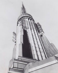 Unknown / UPI - Empire State Building antennas - New York - 1954