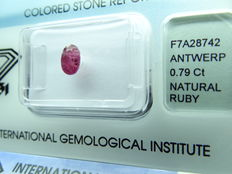 ruby – 0,79 ct