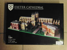 LEGO Certified Professional - Exeter Cathedral - Large model, 1197 pieces - Number 266 of 500