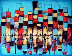 Filip Łoziński - Morning in abstraction city