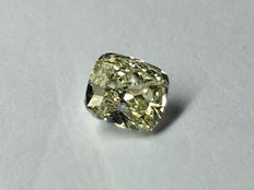 Cushion modified brilliant 0.54 ct with Gia certificate IF clarity