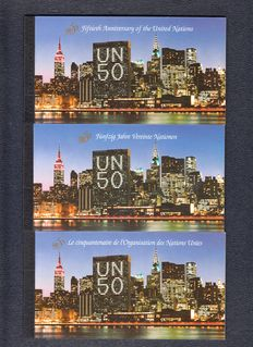 United Nations1995/2010 – selection of stamp booklets