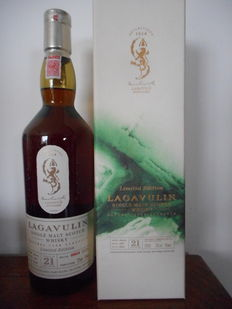 Lagavulin 21 years old bottled 2012