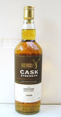 Tormore 1999 16 years old - Speyside - 70cl - 57,8% - Gordon & Macphail