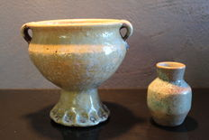 JF Slot - small vase, and a unique goblet