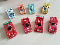 Solido - Scale 1/43 - Lot with 8 70s Race Models: Porsche, Alfa Romeo and March