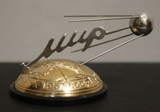 1957-X-4 Sputnik - The First Earth's Satellite - MIR - Vintage USSR SPACE Souvenir