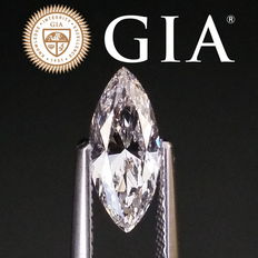 GIA Certied 1.01 ct marquise cut diamond D / SI1