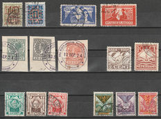 The Netherlands 1923/1935 - Collection occasional stamps and type 'Veth' - NVPH 132 up to and including 198