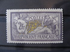 France 1900- Merson Type – Yvert no. 122