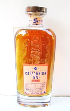 1976 Caledonian 39 years old - 70cl - 51,9% - Signatory Vintage - Gift Box