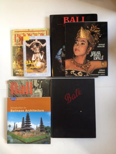Bali; Collection of 7 books on Balinese Art and Culture - 1941 / 2003