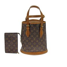 Louis Vuitton – Monogram Petit Bucket with pouch – Hand bag