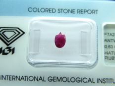 ruby – 0,63 ct