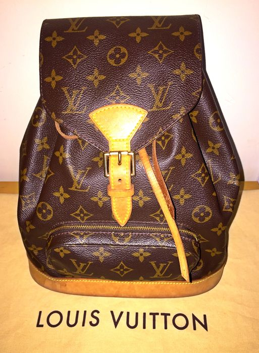 Louis Vuitton Monogram Montsouris MM – Backpack - Catawiki dd1bede205b